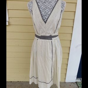 Burning Torch Dresses & Skirts - NWT Burning Torch tan with black Size M