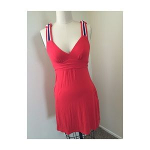 Guess Dresses & Skirts - GUESS jeans red dress size XS