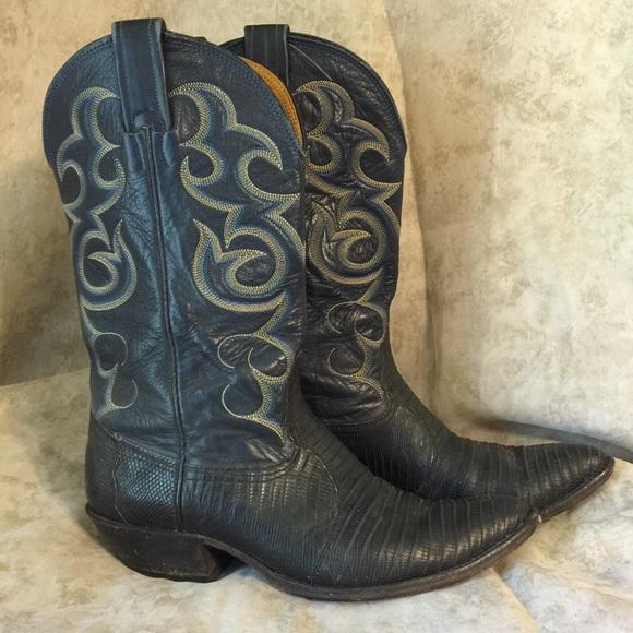 Nocona Lizard Cowboy Boots
