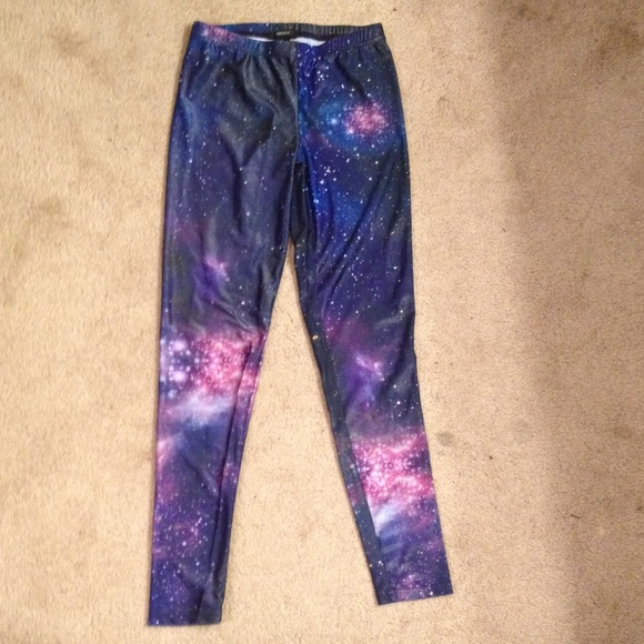 33% off Forever 21 Pants - 🚫SOLD🚫 Galaxy Leggings from ...