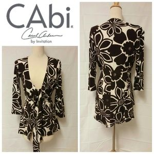 CAbi Floral Wrap - Tunic Size Small