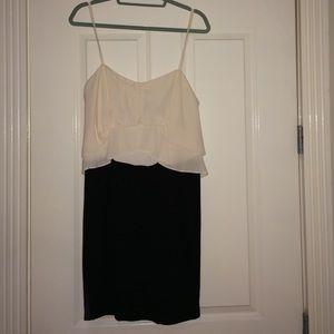BCBG MaxAzria layered dress