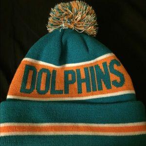 Accessories - Miami Dolphins Beanie
