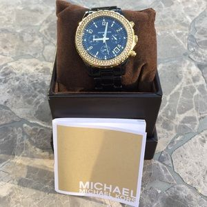 Michael Kors black watch