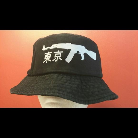 8be6c4af3b7 KYC Vintage very rare AK47 Japanese bucket hat