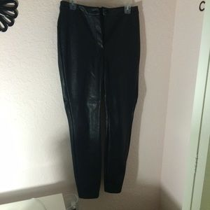 topshop leather disco pants