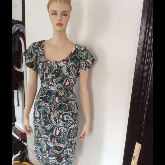 84 dresses skirts floral dress tie back
