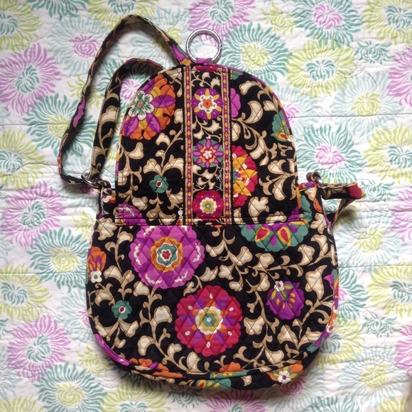 Vera Bradley Bags - GUC Suzani Saddle Up Cross Body Bag
