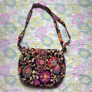 Vera Bradley Handbags - GUC Suzani Saddle Up Cross Body Bag