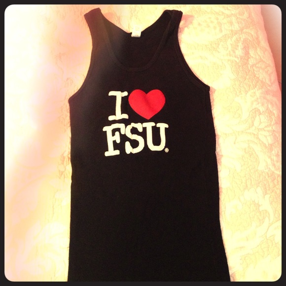 caf199005d227 American Apparel Tops - I ❤ FSU tank top Florida state Seminoles