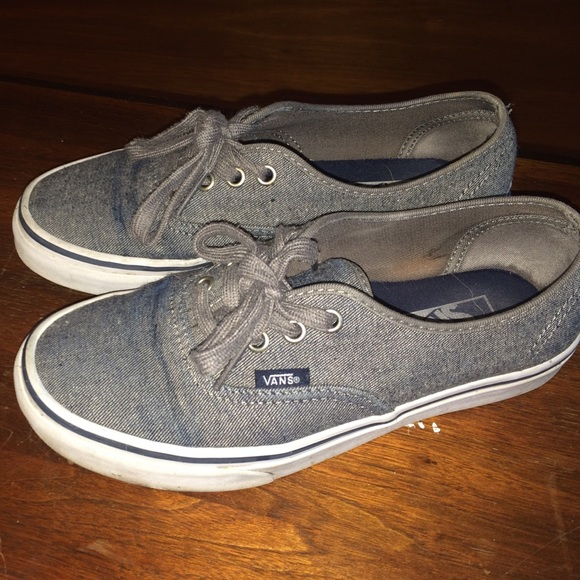 877de97d71f Vans Shoes - dark grey vans