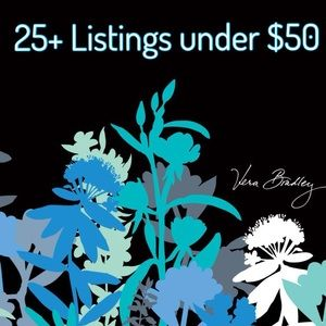Vera Bradley Closet 25+ listings!!