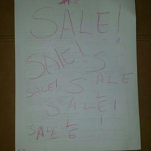 SALE Other - SALE SALE SALE!! Make an offer!!