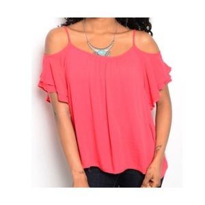 ✨ LAST ONE ✨Red Summer Top