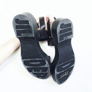 Jil Sander Slingback Platform Sandal