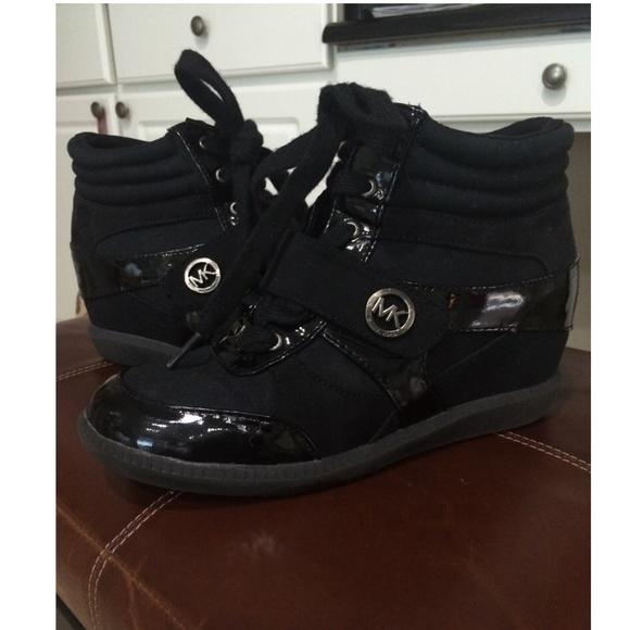 Girls Michael Kors Wedge Sneakers