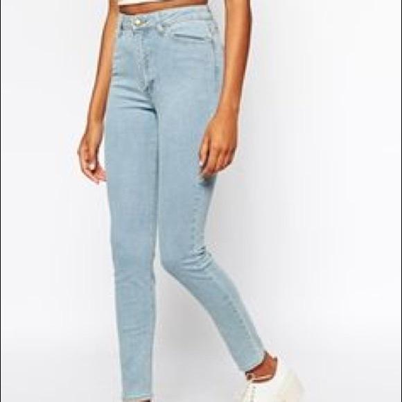 572faa06bb H&M Jeans | Light Wash High Waist | Poshmark
