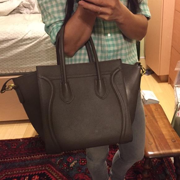 f703c2dcdf9e0 Bags | Made In Italy Celine Mini Luggage Inspired Bag | Poshmark