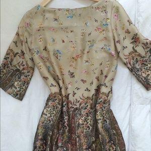 Silk dress by Motivi purchased in Milan