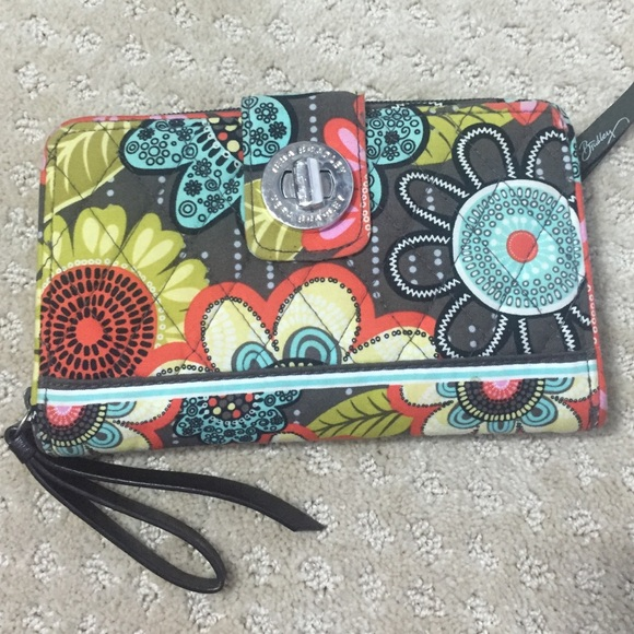 Vera Bradley Clutches & Wallets - Vera Bradley Flower Shower Wallet