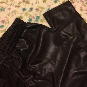 forever 21 pants leather mc hammer poshmark
