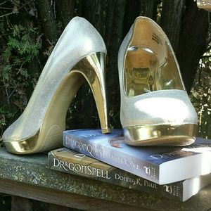 Additional photos of Rampage Gold Heels