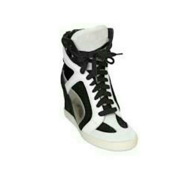 62 casadei shoes pre owned funky wedge sneaker from