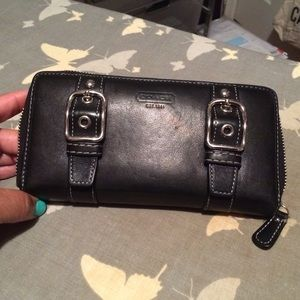 Large Coach Wallet!