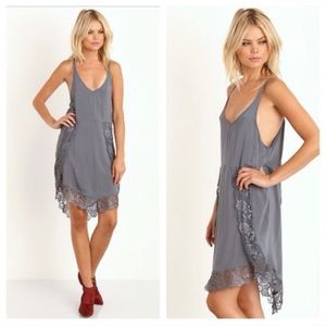 2e9ecb4492ec Free People Dresses - Free People Gray Eyelashes Slip Dress