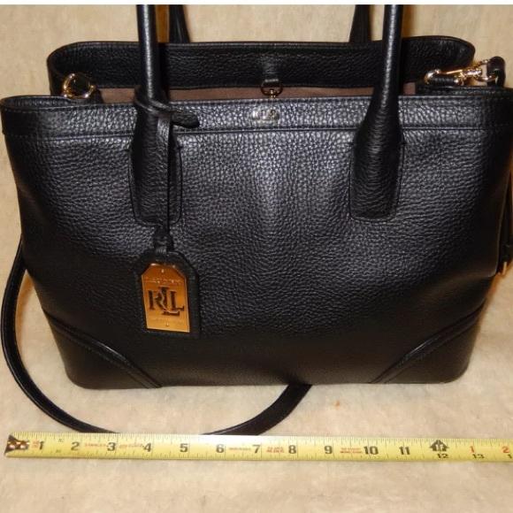 lauren ralph lauren city leather shopper tote 51d44bfd0ad85