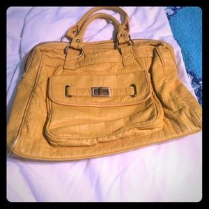 Yellow Bag From Boutique