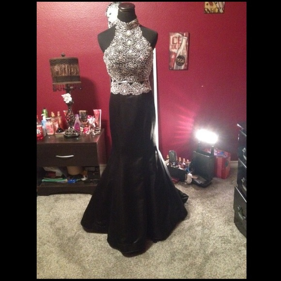 Gautier formal dresses Jackets & Coats | Two Piece Prom Dress Only ...