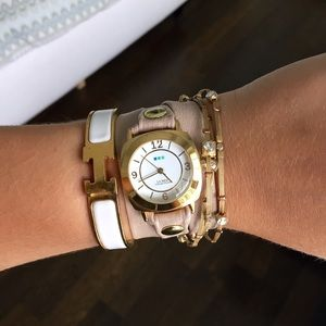 La Mer Collections Nude Wrap Watch