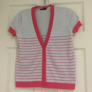 Urban Outfitters BDG Short sleeve Striped cardigan