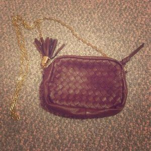Handbags - brown small cross body purse