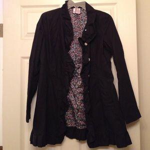 Jackets & Blazers - Light weight black dress coat