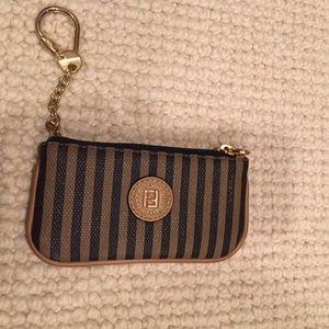 Vintage Fendi Keychain Wallet