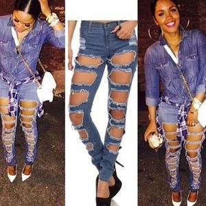 Denim - Ripped jeans