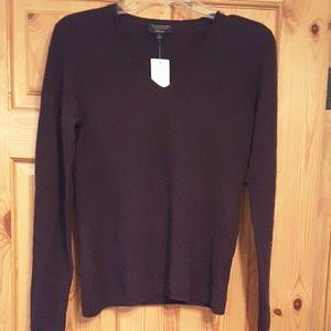 Charter Club Luxury Sweaters - Charter Club burgundy cashmere sweater, NWT