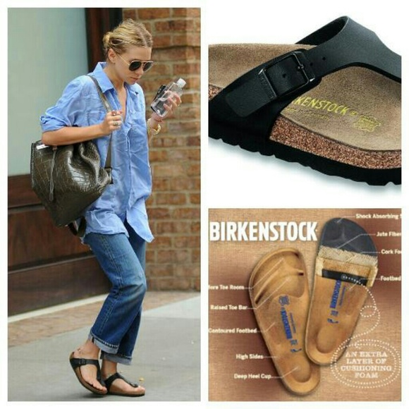edaa2975537 Birkenstock Shoes - Womens Birkenstock  Gizeh  Graceful in ...