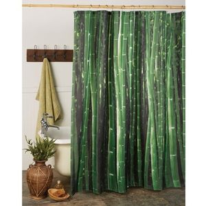Other - NIB Bamboo Shower Curtain 🌱🛁