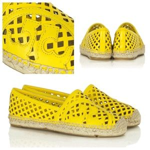 Tory Burch Shoes - Tory Burch Yellow Espadrilles
