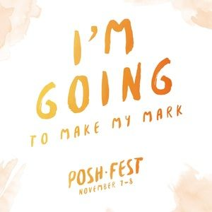 PoshFest Other - Going to PoshFest? Grab a badge and share!
