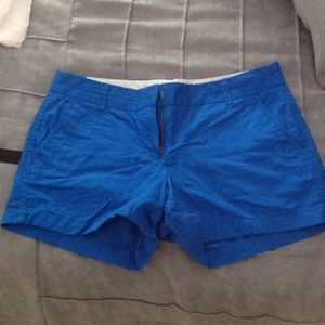 J.Crew Factory blue broken in chino short
