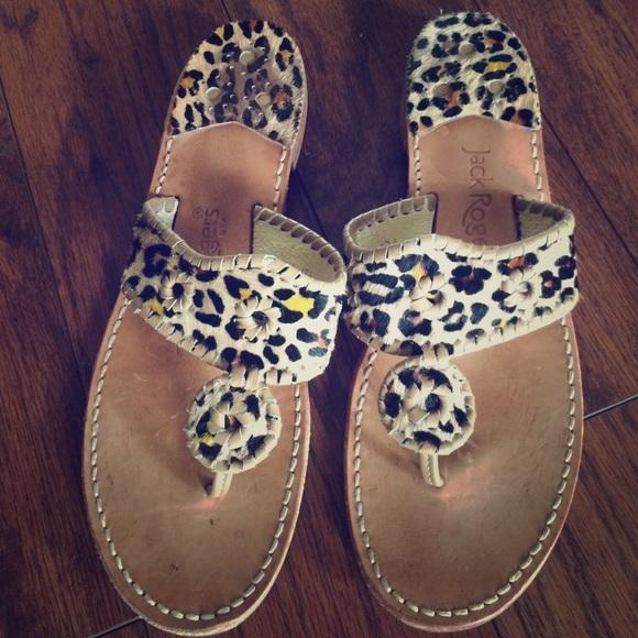 jack rogers leopard sandals
