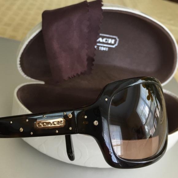 344f3307d6e Coach Accessories - Coach sunglasses Samantha tortoise brown   case