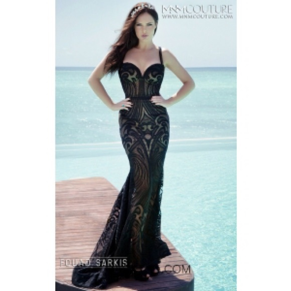 1482d5c2f24 Mnm couture evening dress