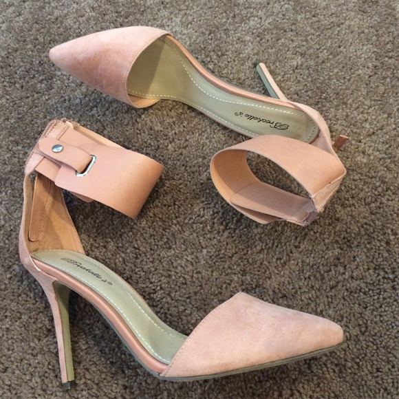 33% off Breckelles Shoes - Brand New Blush Colored Pumps Heels 11 ...