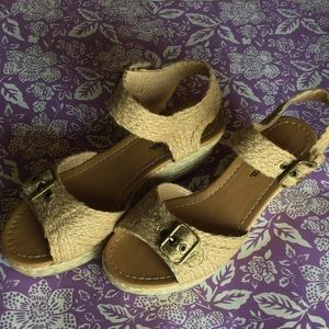 Classified Shoes - Jute Wedge NEW