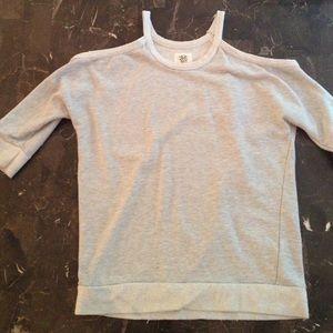 Grey Jessica Simpson trendy sweater